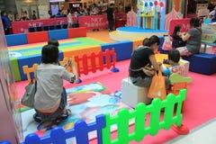 Hong Kong Event van van de de Wereldfamilie van Disney ` s het Liefjebaby Carnaval Stock Afbeeldingen