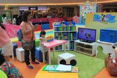 Hong Kong Event van van de de Wereldfamilie van Disney ` s het Liefjebaby Carnaval Royalty-vrije Stock Fotografie