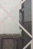 Hong Kong fönster arkivbilder