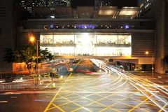 Hong Kong första Apple lager Royaltyfria Bilder