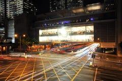 Hong Kong första Apple lager Arkivfoto