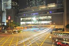 Hong Kong första Apple lager Arkivbilder