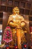 HONG KONG - Feburary 27.2016: Che Kung God-Statue bei Che Kun Stockbilder