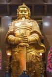 HONG KONG - Feburary zevenentwintigste 2016: Che Kung God-standbeeld in Che Kun Stock Afbeeldingen