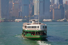 Hong Kong ferry Stock Photos