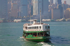 Hong Kong ferry Royalty Free Stock Photography