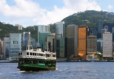 Hong Kong Ferry Royalty Free Stock Images