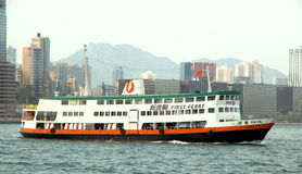 Hong Kong Ferry Boat Royalty Free Stock Images