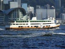 Hong Kong Ferry Boat Stock Image