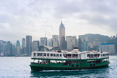 Hong Kong ferry boat Stock Image