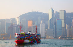 Hong Kong ferry Royalty Free Stock Photos