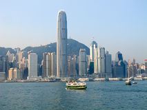 Hong Kong ferry Stock Photo