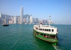 Hong Kong ferry Stock Images