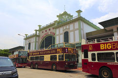 Hong kong ferry terminal Stock Image
