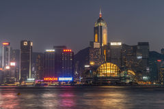 Hong Kong Financial District Royalty Free Stock Photography