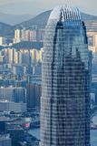 Hong Kong finanse międzynarodowi Centre Obraz Royalty Free