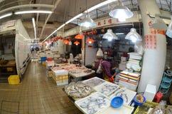 Hong Kong fish market Stock Photo