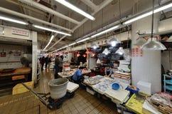 Hong Kong fish market Royalty Free Stock Image
