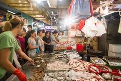 Hong Kong fish market Royalty Free Stock Images