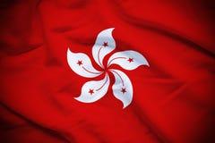 Hong Kong Flag Stock Photography