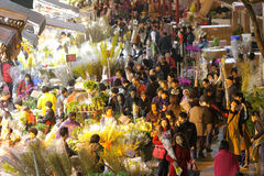 Hong Kong : Flower Market Royalty Free Stock Image