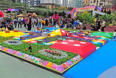 Hong kong flower show 2012 Stock Photos