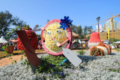 Hong Kong Flower Show 2012 Stock Image