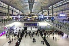 Hong Kong flygplats royaltyfri fotografi