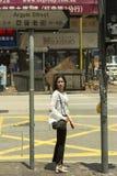 Hong Kong folk Arkivfoton