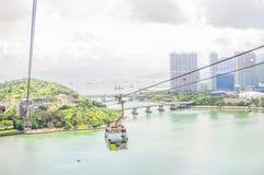 Hong Kong från över Arkivfoton