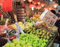 Hong Kong fresh food market Royalty Free Stock Photography
