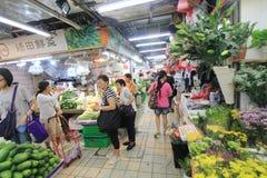 Hong Kong fresh food market Stock Image