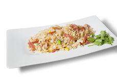 Hong kong fried rice Royalty Free Stock Images