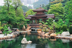 Hong Kong garden stock images