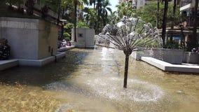 Hong Kong garden fountain