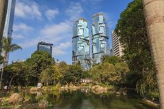 Hong Kong garden Royalty Free Stock Photo