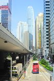Hong Kong gata Royaltyfria Foton