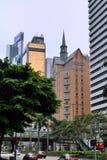 Hong Kong gata Fotografering för Bildbyråer