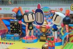 Hong Kong 2015 GEGEN Bomberman-Spielereignis Stockfotografie