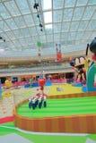 Hong Kong 2015 GEGEN Bomberman-Spielereignis Lizenzfreies Stockbild