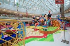 Hong Kong 2015 GEGEN Bomberman-Spielereignis Stockfoto