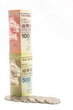Hong Kong-Geld Stockfotografie