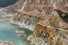 Hong Kong Globalny Geopark obrazy stock