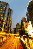 Hong Kong-Geschäftszentrum. Stockfotos
