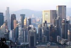 Hong Kong-Gewerbegebiet stockfotografie