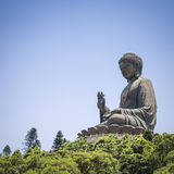 Hong Kong The Giant Buddha Royalty Free Stock Photography