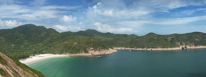 Hong Kong global geopark of china Royalty Free Stock Photo