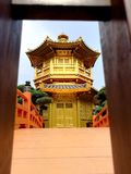 Hong Kong Golden Castle royalty free stock images