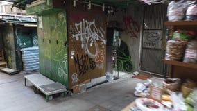 Hong Kong Graffiti art
