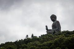 Hong Kong großer Buddha Lizenzfreies Stockfoto